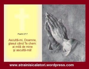 DUMNEZEU ASCULTA RUGACIUNEA...